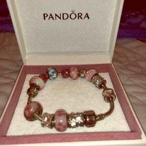 Jewelry - NOT AUTHENTIC charm bracelet